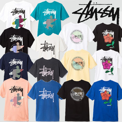 -STUSSY-new SS printed T shirt 14 types of T shirt