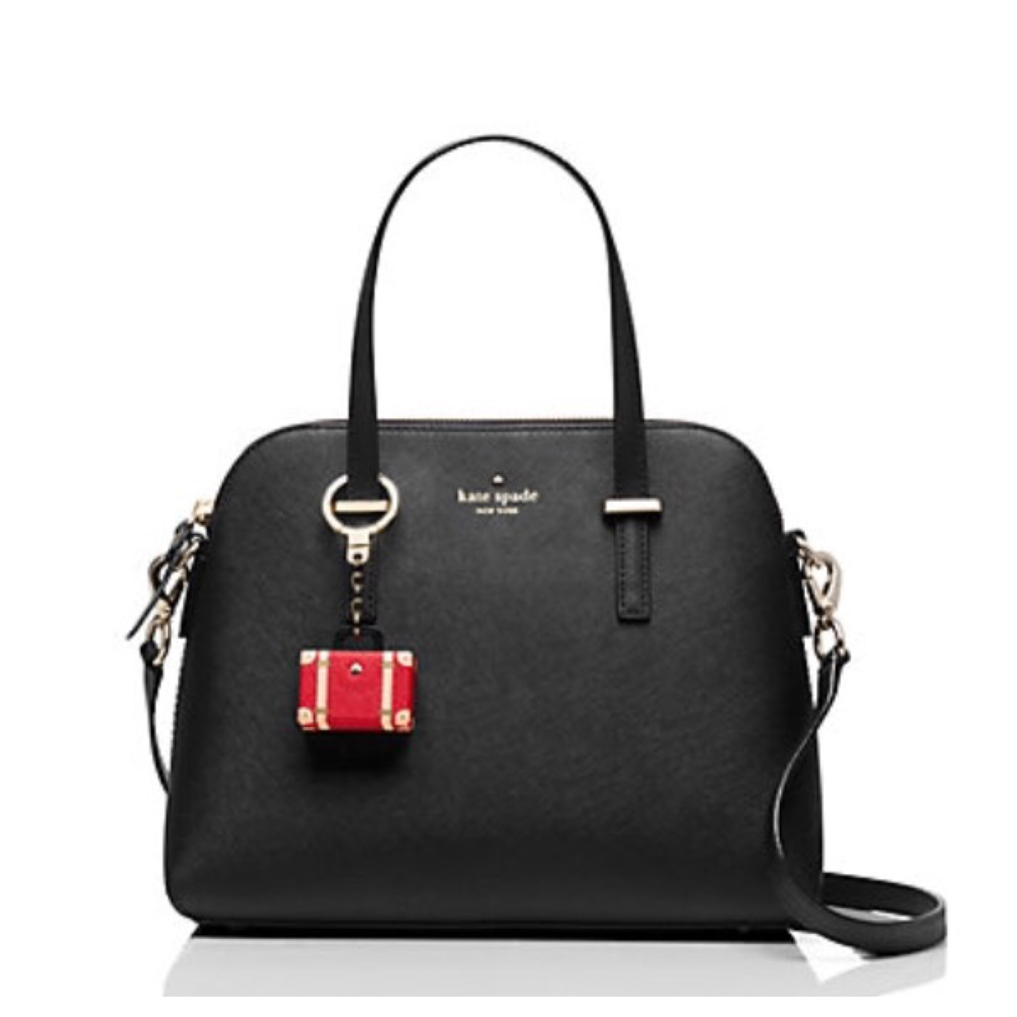 kate spade /キーリング/ suitcase keychain (スーツケース)