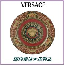 ★Medusa Red Charger Plate★Versace