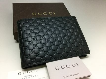 GUCCI micro GG black coin purse with wallet