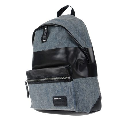 / DIESEL two-tone color back pack