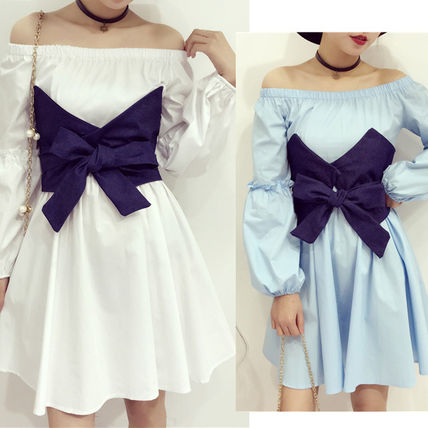 Combination corset shirt dress