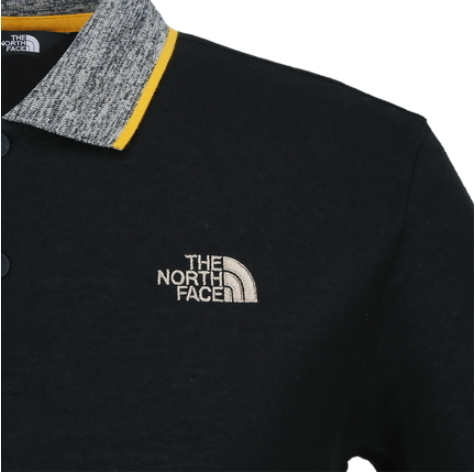 THE NORTH FACE ★ M'S SOLID LINEN PQ S/S POLO 3色
