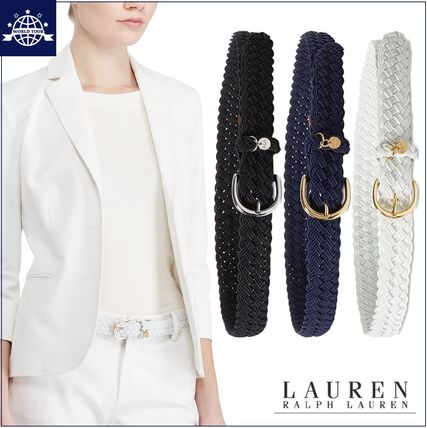 RALPH LAUREN charm with braided belt included