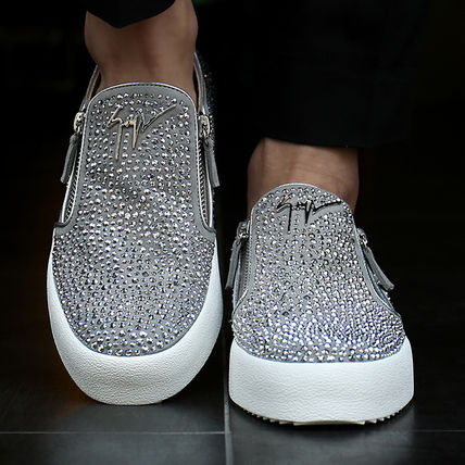 17th SS Zanotti SWAROVSKI Slip-on sneakers