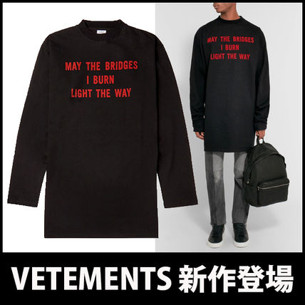 "17th SS ""VETEMENTS"" oversized print Chateau."