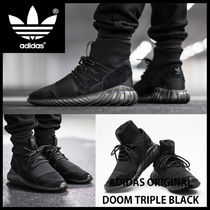 ★韓国の人気★ADIDAS★TUBULAR DOOM TRIPLE BLACK★