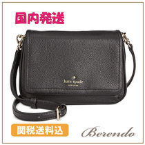国内発送◆kate spade Cobble Hill Mini Abela レザー 黒 BAG