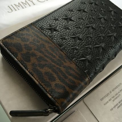 JIMMY CHOO Lopa & stars Embossing Black's popular items