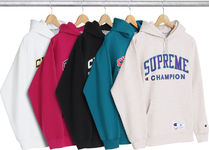 送込 Supreme Champion Sweatshirt Hooded 限定 コラボ