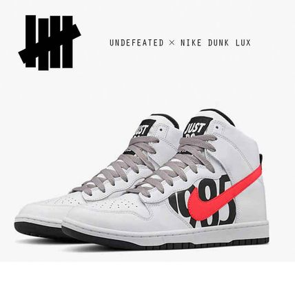 UNDEFEATED × NIKE DUNK LUX アンディフィーテッド