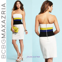 ★赤字セール★BCBGMAXAZRIA Strapless Woven Reesie Dress★