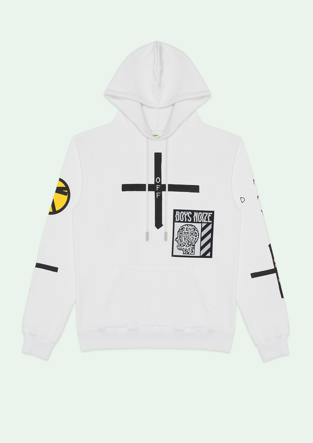 Off-White(オフホワイト)☆BOYS NOIZE X MAY DAY HOODIE☆
