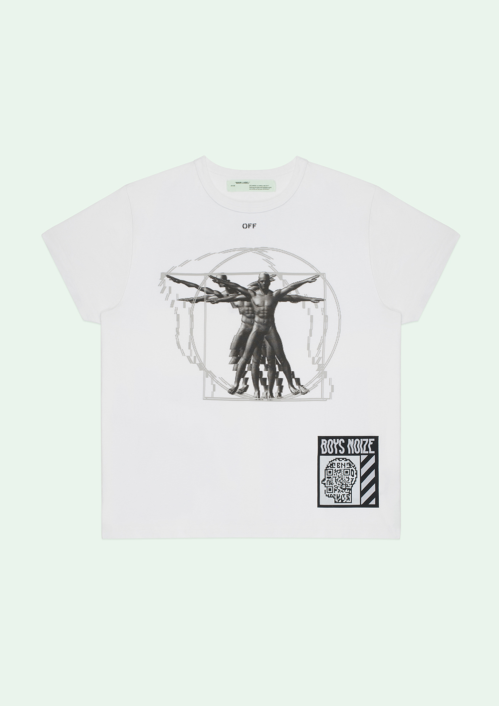 Off-White(オフホワイト)☆BOYS NOIZE X MAY DAY T-SHIRT☆
