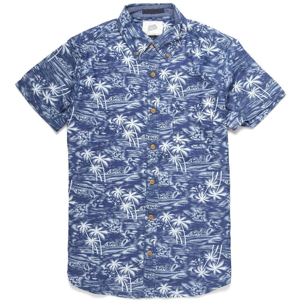 Deus Ex Machina_ALBIE HAWAIIAN シャツ 【関税送料込】