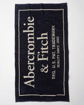 Abercrombie & Fitch(アバクロ) レジャー・ピクニック用品 【Abercrombie】LOGO BEACH TOWL全3色