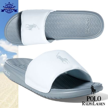 Ralph Lauren POLO shower Sandals WHITE peace of mind