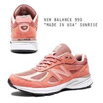 "NEW BALANCE 990 ""MADE IN USA"" SUNRISE ピンク"