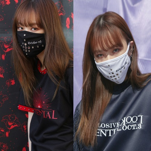 (Oct.3) ☆October3rd Cross Eyelet Mask