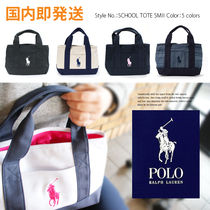 POLO RALPH LAUREN ポロラルフローレン  SCHOOL TOTE SMALL