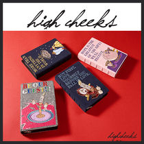 [HIGH CHEEKS/DHL無料]Storybook Clutch (4種類) クラッチバッグ