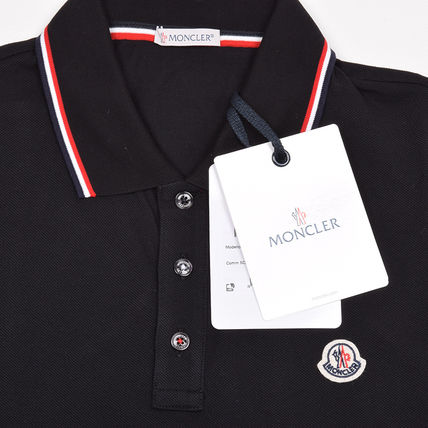 MONCLER ポロシャツ モンクレール MONCLER  17SS ブラック半袖ポロシャツ 8345600 (3)