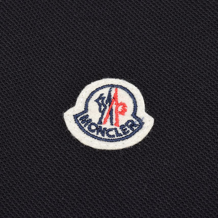 MONCLER ポロシャツ モンクレール MONCLER  17SS ブラック半袖ポロシャツ 8345600 (5)