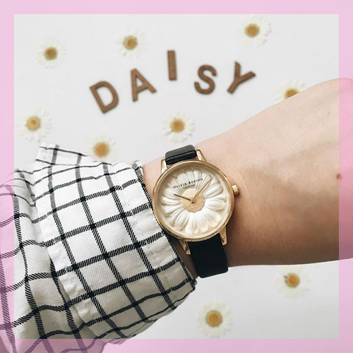 ★Olivia Burton★ Flower Show Daisy Watch /国内発/送関込