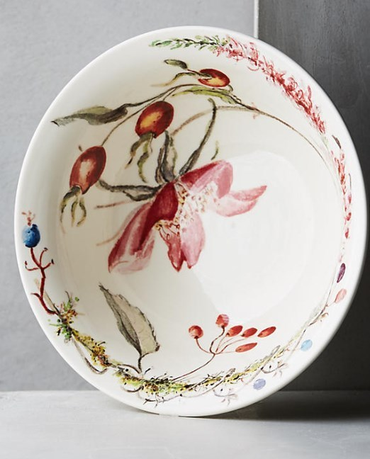 Anthropologie☆Gien Bouquet お皿 5点セット 国内発送
