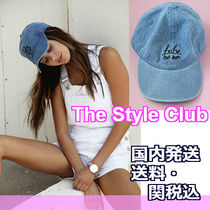 THE STYLE CLUB(ザスタイルクラブ) キャップ 送料・関税込♪大人気!The Style Club★デニムBABEキャップ★