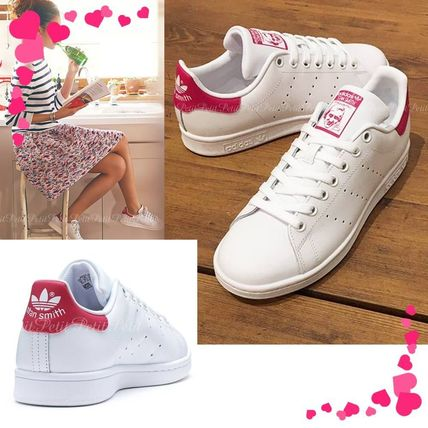 adidas Stan Smith / Clear white and  pink/CG4154