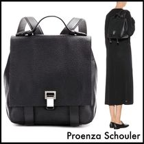 Proenza Schouler☆PS Courier Miniレザーバックパック/Black