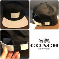 Coach メンズ新作 モノトーン キャップ