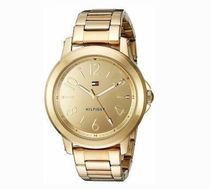 追尾/関税込Tommy Hilfiger Gold-Tone Ladies Watch 1781751