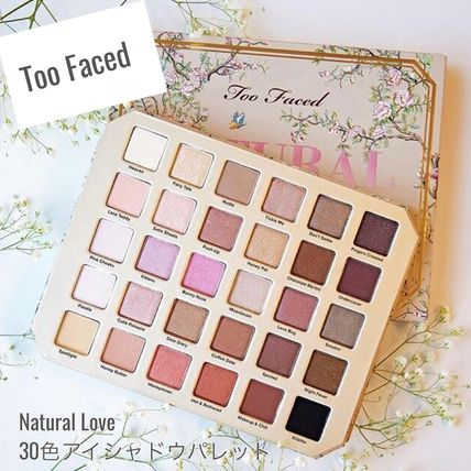 Too Faced☆Natural Love☆30色☆アイシャドウパレット