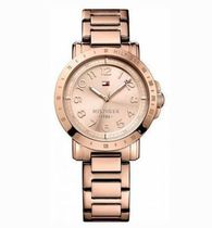 追尾/関税込Tommy Hilfiger Rose Gold-Tone Ladies Watch1781396