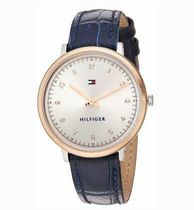 追尾/関税込Tommy Hilfiger Leather Ladies Watch 1781764
