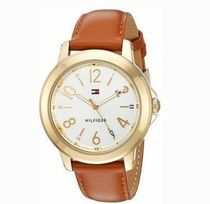 追尾/関税込Tommy Hilfiger Leather Ladies Watch 1781754