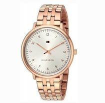 追尾/関税込Tommy Hilfiger Rose Gold-Tone Ladies Watch1781760