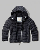 国内発送A&Fガールズ15-16歳 hooded lightweight puffer