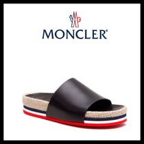 ★MONCLER《モンクレール》EVELYN PLATFORM SLIPPER★送料込★