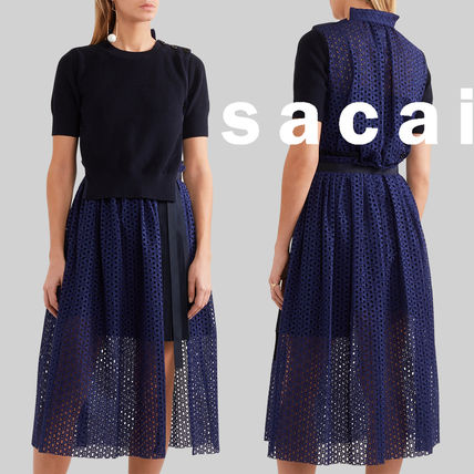 SACAI knits and Brawley pile wear wind MIDI