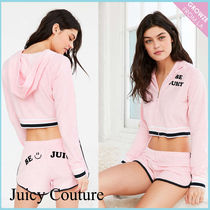 【JUICY COUTURE】新作☆限定 ロゴ スウェットパーカー ピンク♪