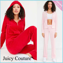 【JUICY COUTURE】新作☆限定 ベロア ジップ パーカー 2色♪