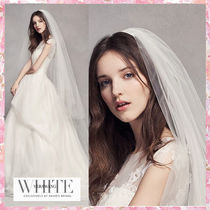 【White by Vera Wang】Two Tier Tulle CathedralVeil★ヴェール