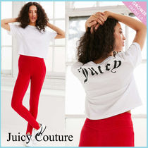 【JUICY COUTURE】新作☆限定 バックプリント ロゴ Tシャツ♪