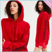 【JUICY COUTURE】新作☆限定 オーバーサイズ ロゴ フーディ♪