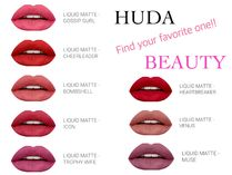 HUDA BEAUTY LIQUID MATTE リップスティック