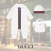 GUCCI Baby/ウェブ プリント 3ピースギフトセット