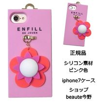 ENFILL pearl flower iphone7 case pink ケース 正規品 即納